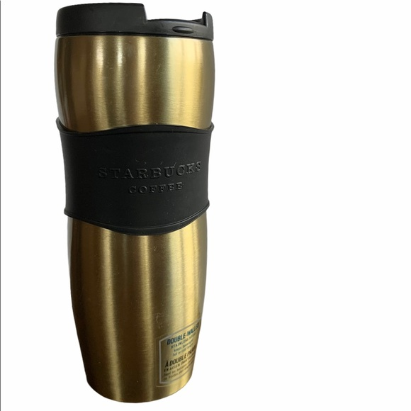 Starbucks gold stainless steel tumbler